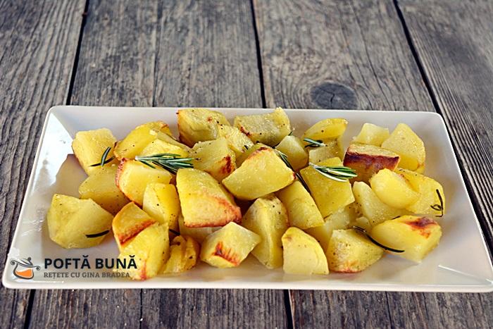 Cartofi cu rozmarin reteta clasica italiana - Cartofi cu rozmarin