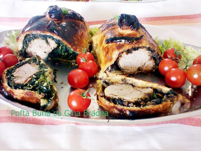 pofta buna cu gina bradea muschiulet de porc picant in foietaj - Index retete culinare (categorii)