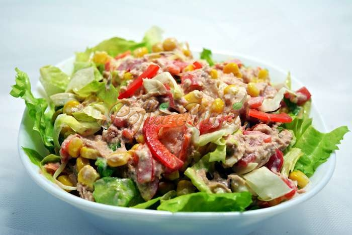 Salata de ton pofta buna cu gina bradea 1 - Index retete culinare (categorii)