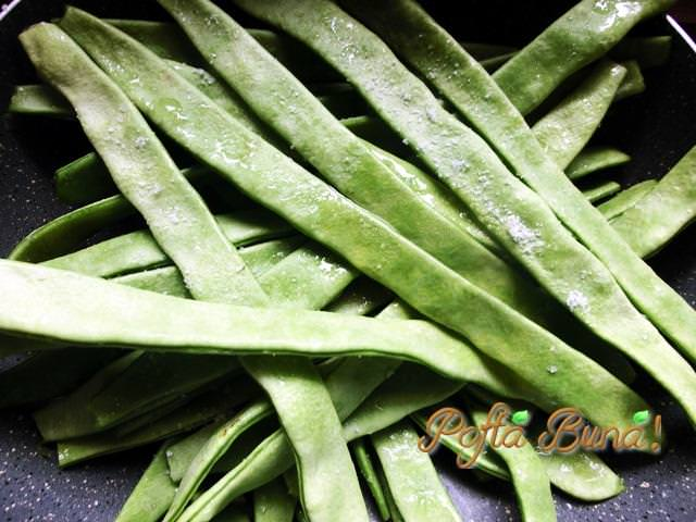 Reteta de fasole verde sote cu usturoi