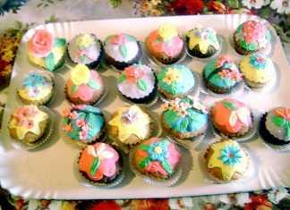 Briose - cupcakes cu portocale si ghimbir