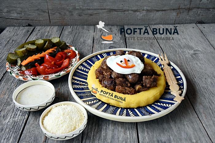 Tochitura moldoveneasca reteta veche traditionala taraneasca video 1 - Tochitura de porc moldoveneasca reteta traditionala