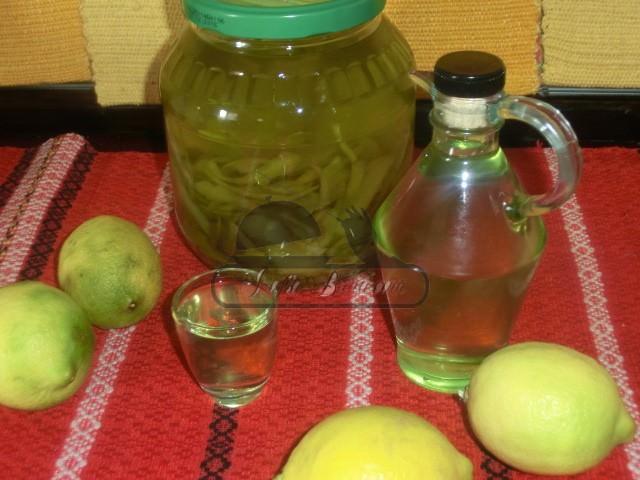 Limoncello - lichior de lamaie