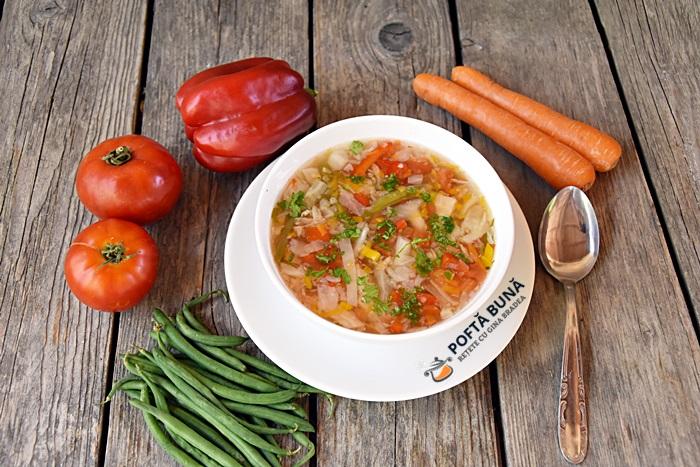 Supa de varza reteta simpla dietetica - Supa de varza