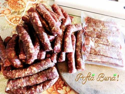 Reteta de carnati picanti in stil italian