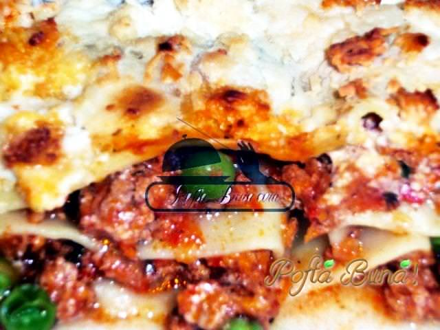 lasagna cu mazare sos tomat pofta buna gina bradea. - Index retete culinare (categorii)