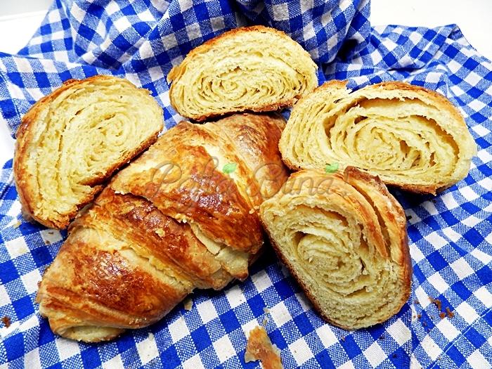 Aluat rapid pentru croissant pofta buna cu gina bradea - Aluat rapid pentru croissant