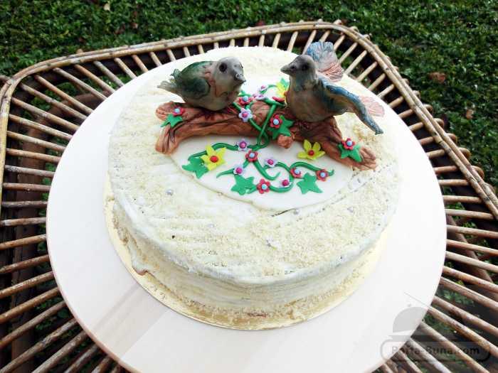 Tort cu vrabiute