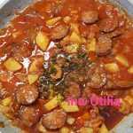 Mancarica de cartofi cu carnati 150x150 - Iahnie de cartofi cu carnati