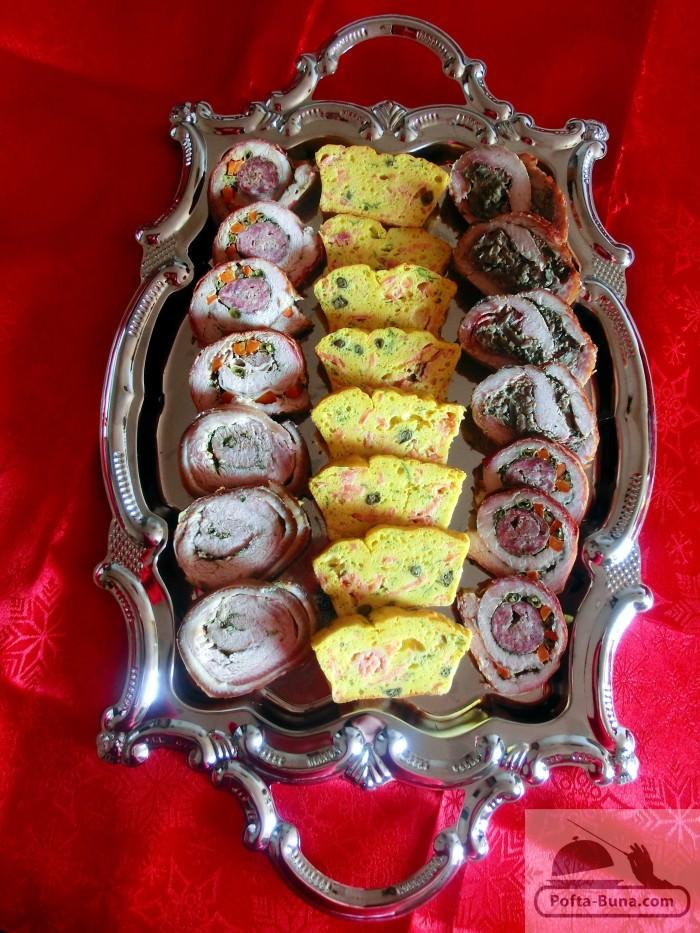 gina bradea pofta buna chec aperitiv mini tarte cu somon si capere 3 e1403085960120 - Chec aperitiv cu somon si capere  (tarta-quiche)