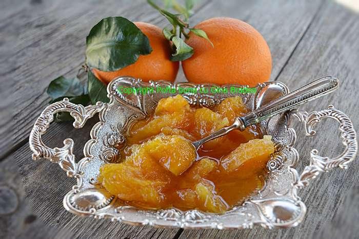 DULCEATA DE PORTOCALE RETETA ITALIANA POFTA BUNA CU GINA BRADEA - Dulceata de portocale-reteta italiana