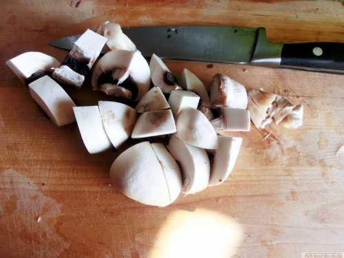 Ciulama de ciuperci