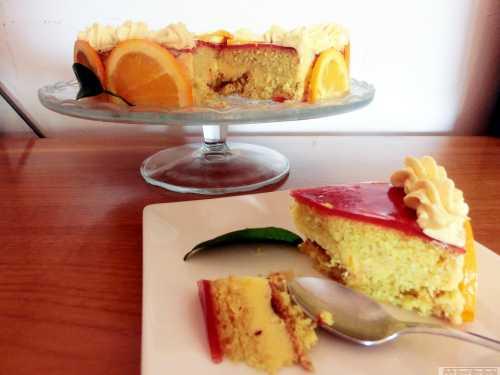 Tort fin cu crema de portocale, reteta veche, din caietele matusilor