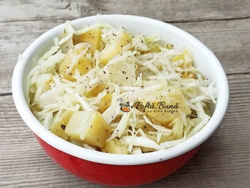 Salata ungureasca de post reteta gina bradea 500x376 - Salata ungureasca de post reteta ieftina si rapida
