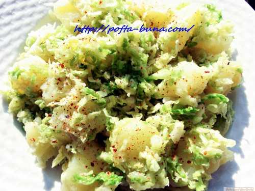 Reteta de salata ungureasca de post