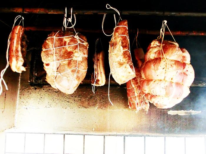 Jambon traditional afumat - Pulpa de porc afumata
