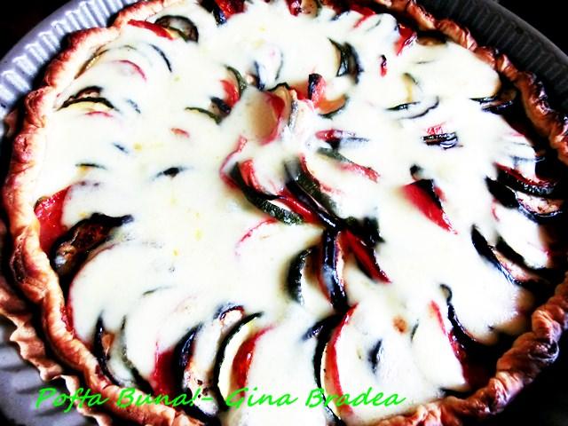 Pofta buna gina bradea tarta cu vinete si dovlecei ratatouille.jpg 5 - Tarta cu vinete si dovlecei (ratatouille)