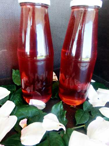 pofta buna gina bradea sirop natural de trandafiri fara conservanti.jpg 375x500 - Sirop de trandafiri (natural, fara conservanti)