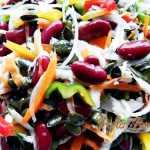 Salata de fasole cu legume si seminte pofta buna gina bradea 1 150x150 - Retete festive de Florii si Paste