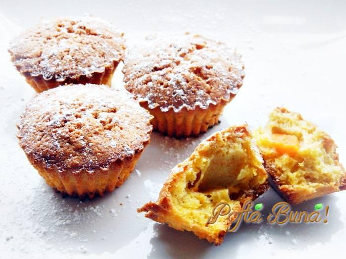 muffins chec briose cu dovleac pofta buna gina bradea 2 - Muffins-chec-briose cu dovleac