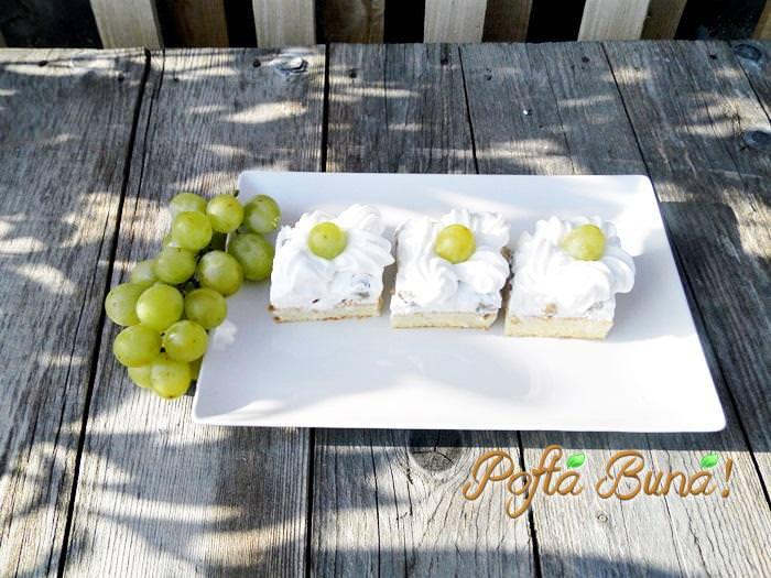 prajitura cu struguri si frisca pofta buna gina bradea 7 - Index retete culinare (categorii)