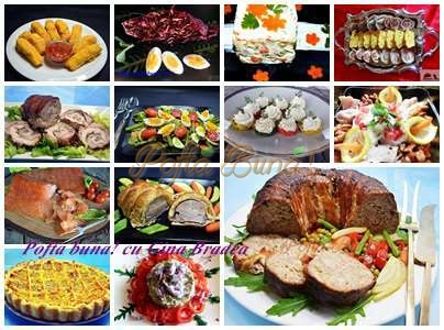 Aperitive salate garnituri festive pofta buna cu gina bradea - Aperitive festive