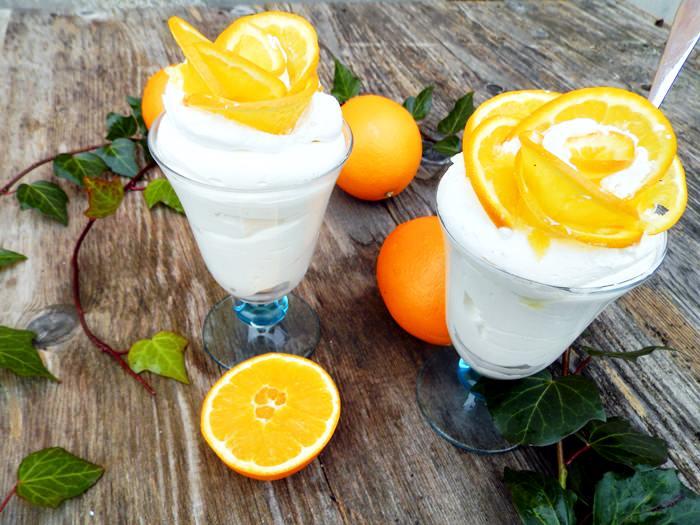 Crema fina cu mascarpone si portocale fara zahar pofta buna gina bradea 6 - Crema fina de mascarpone cu portocale, fara zahar