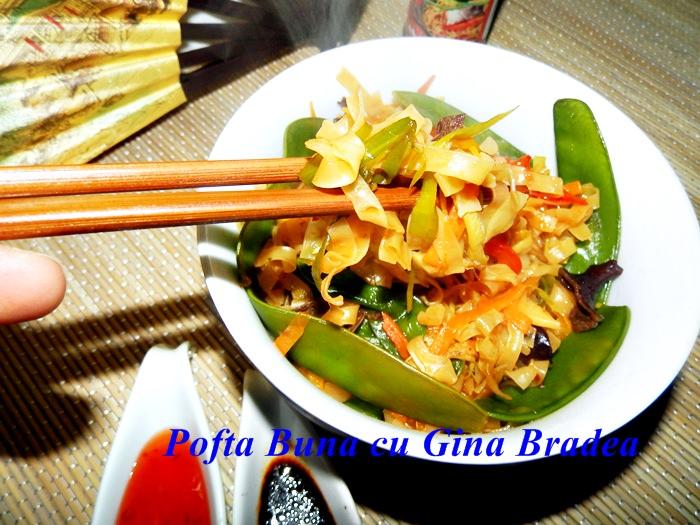 Paste asiatice cu legume la wok pofta buna gina bradea 9 - Paste asiatice cu legume, la wok