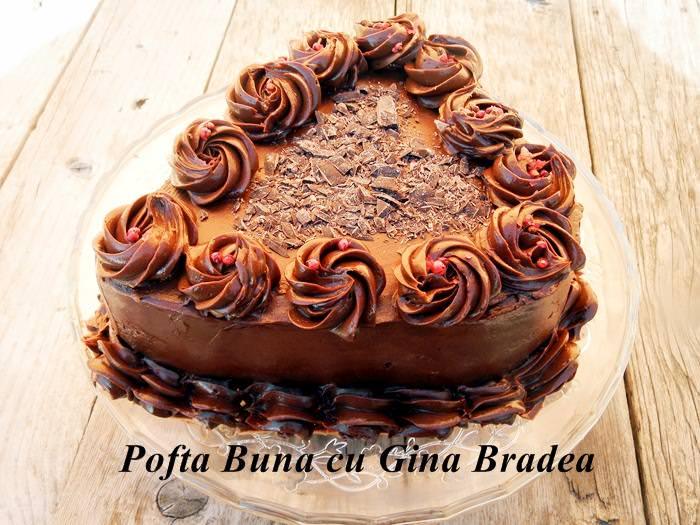 """Tort Zilele amantilor ciocolata cu piper pofta buna gina bradea 17 - Tort """"Zilele amantilor"""""""