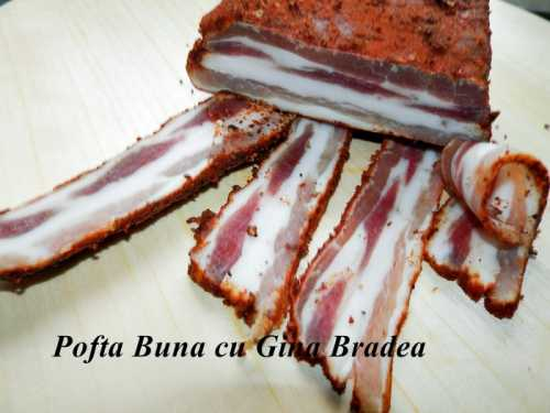 pancetta bacon de casa pofta buna gina bradea 14 500x375 - Pancetta (bacon de casa)