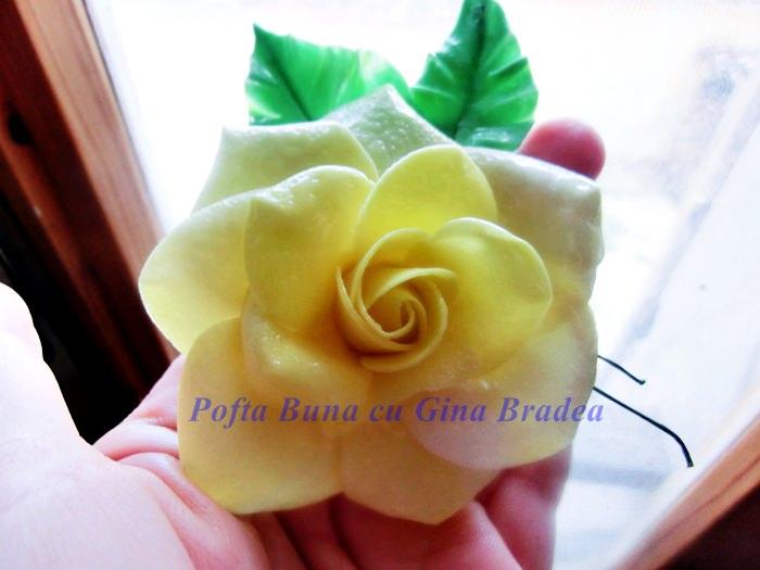 gumpaste pasta de flori a tatianei pofta buna gina bradea 5 - (Gumpaste) Pasta de zahar pentru flori a Tatianei