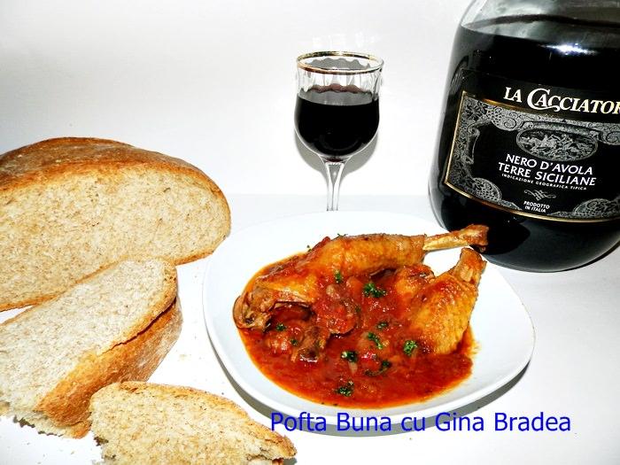 pui alla cacciatora pofta buna gina bradea 2 - Index retete culinare (categorii)