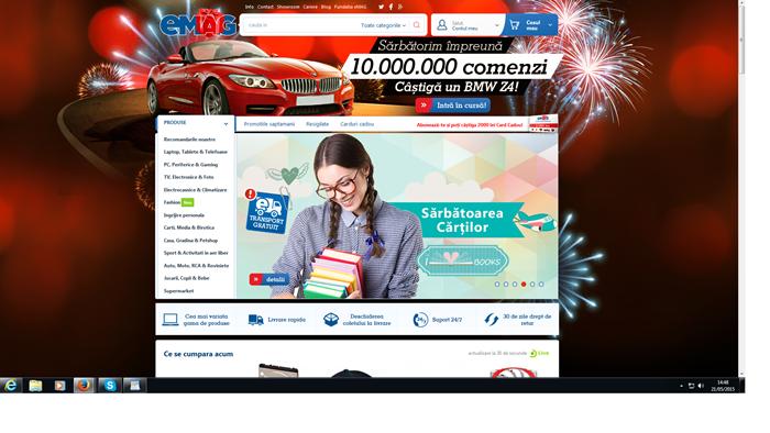 eMAG1 - eMAG e cel mai de incredere magazin online din Romania