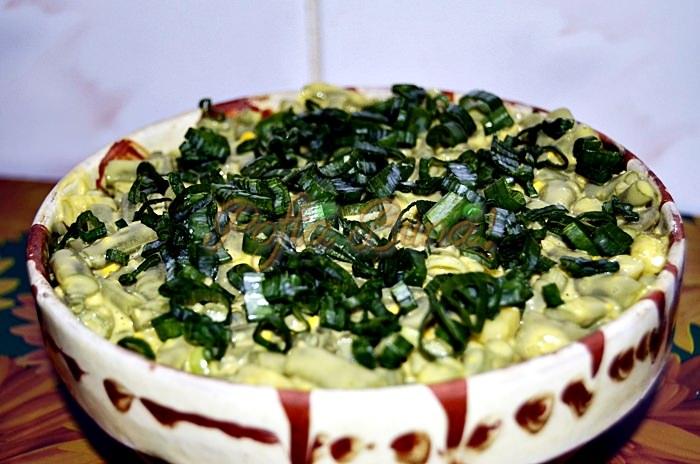 Salata de pastai cu maioneza-Aluculesei Brandusa
