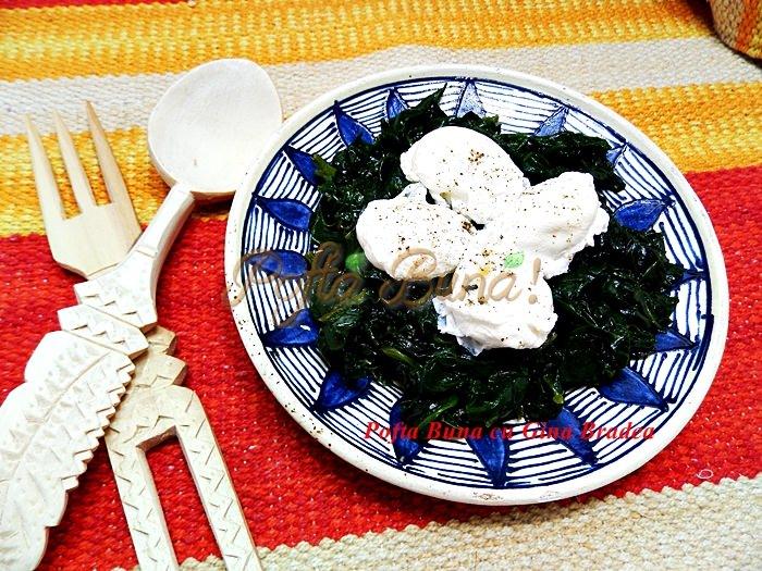 Oua de prepepelita cu spanac sau urzici pofta buna cu Gina Bradea 1 - Oua posate de prepelita cu spanac sau urzici