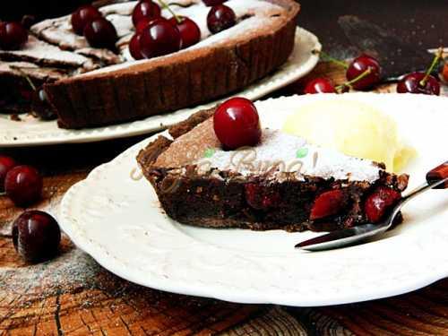 Tarta cu visine si ciocolata-Mihaela Cercel