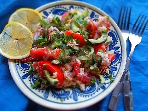 "Salata ""Panzanella""-Robert Badica"