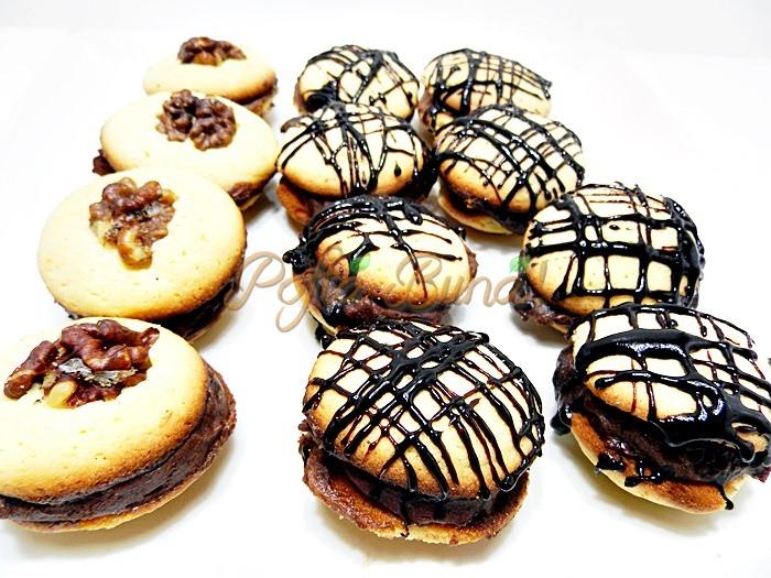 Paleuri cu fondant cicolata sau nuca pofta buna cu gina bradea 4 - Paleuri cu nuca, fondant sau ciocolata