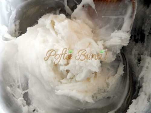 Prajitura Siretul cu crema de Ness
