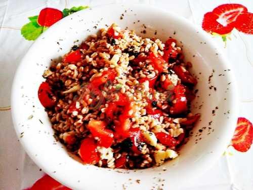 Salata de alac cu rosii-Inocentiu L Canea