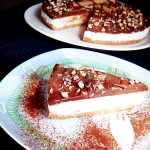 Tarta fara coacere, cu iaurt si ciocolata