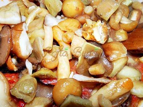 Zacusca de ciuperci