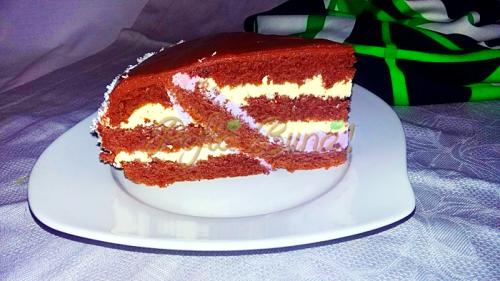 3.Tort cu ciocolata si fructe de padure-Iuliana Dinu