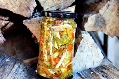Zarzavat pentru supa ciorba pentru iarna pofta buna cu gina bradea 11 500x334 - Zarzavat de supa, ciorba pentru iarna, reteta simpla, fara conservant