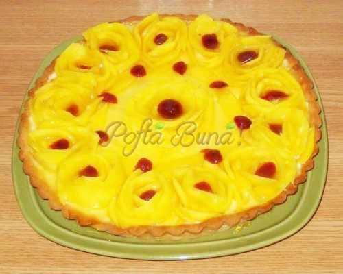 Tarta cu mango-Porceanu Gica
