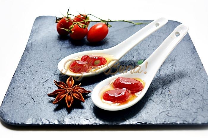 Dulceata de rosii pofta buna cu gina bradea 5 - Dulceata de rosii, reteta simpla din rosii cherry