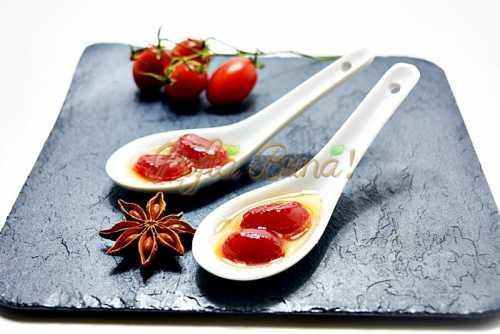 Dulceata de rosii pofta buna cu gina bradea 6 500x334 - Dulceata de rosii, reteta simpla din rosii cherry