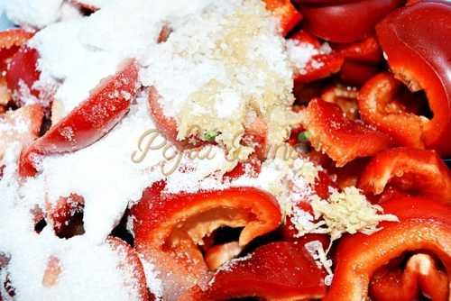 Gogosari in otet, la rece