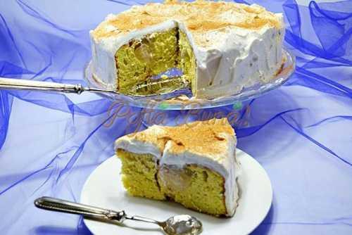 Tort cu mere intregi si frisca pofta buna cu gina bradea 7 500x334 - Tort de mere intregi si frisca