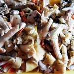 Ardei umpluti cu orez si ciuperci, de post